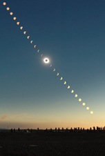 2008 solar Eclipse Picture